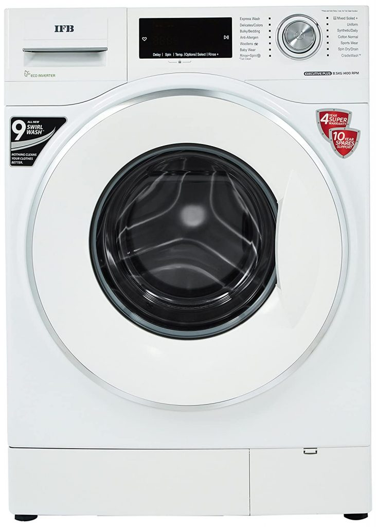IFB 8.5 Kg Executive Plus VX ID Fully-Automatic Best IFB Washing Machine