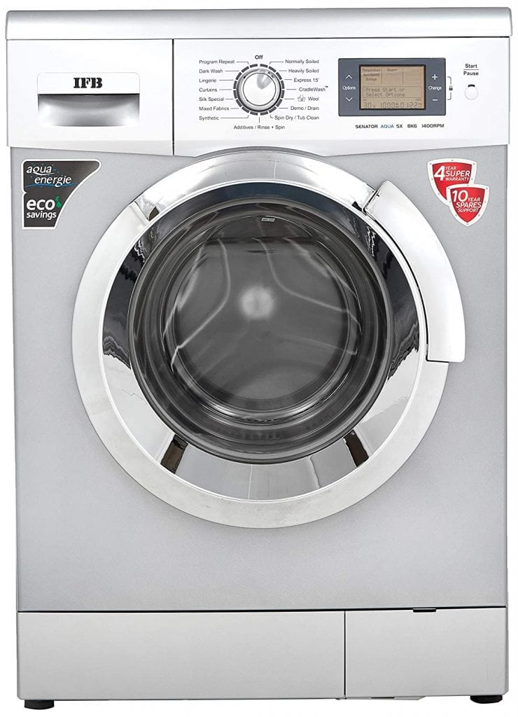 IFB 8 Kg Senator Aqua SX Fully-Automatic Best IFB Washing Machine