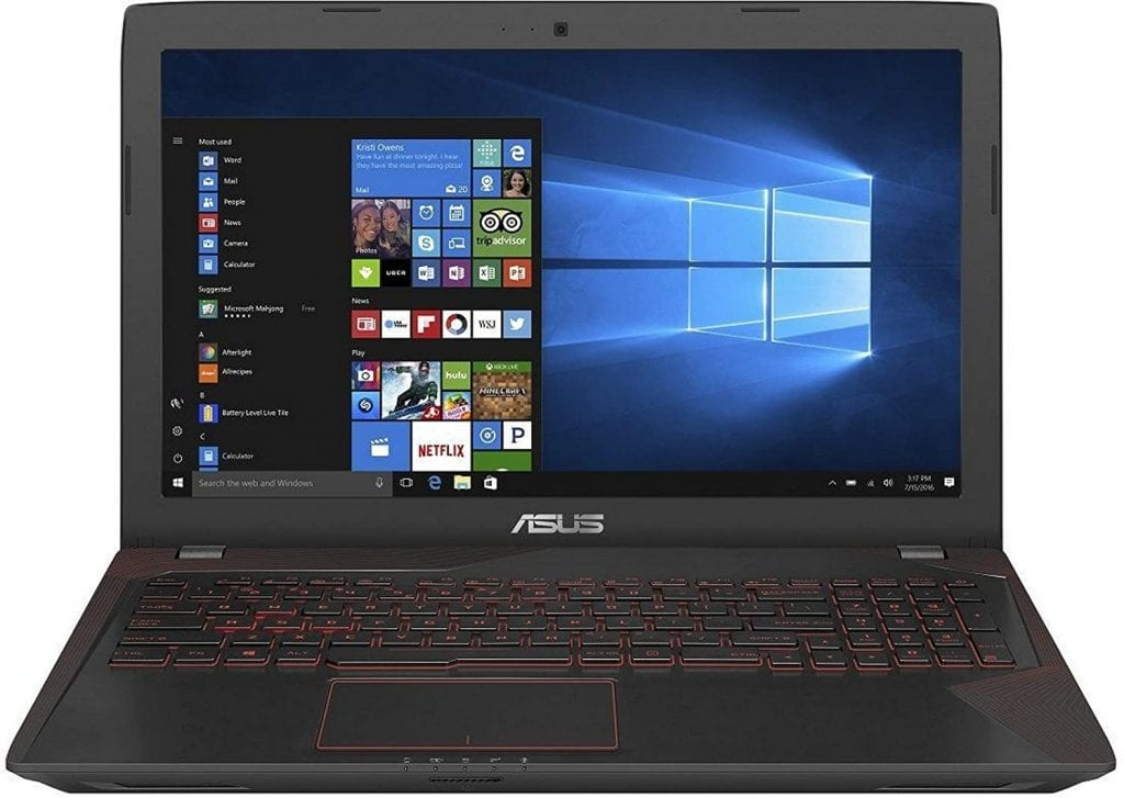 Asus FX553VD-DM1031T 15.6-inch Gaming Laptop Best Gaming Laptops Under 60000 To 70000