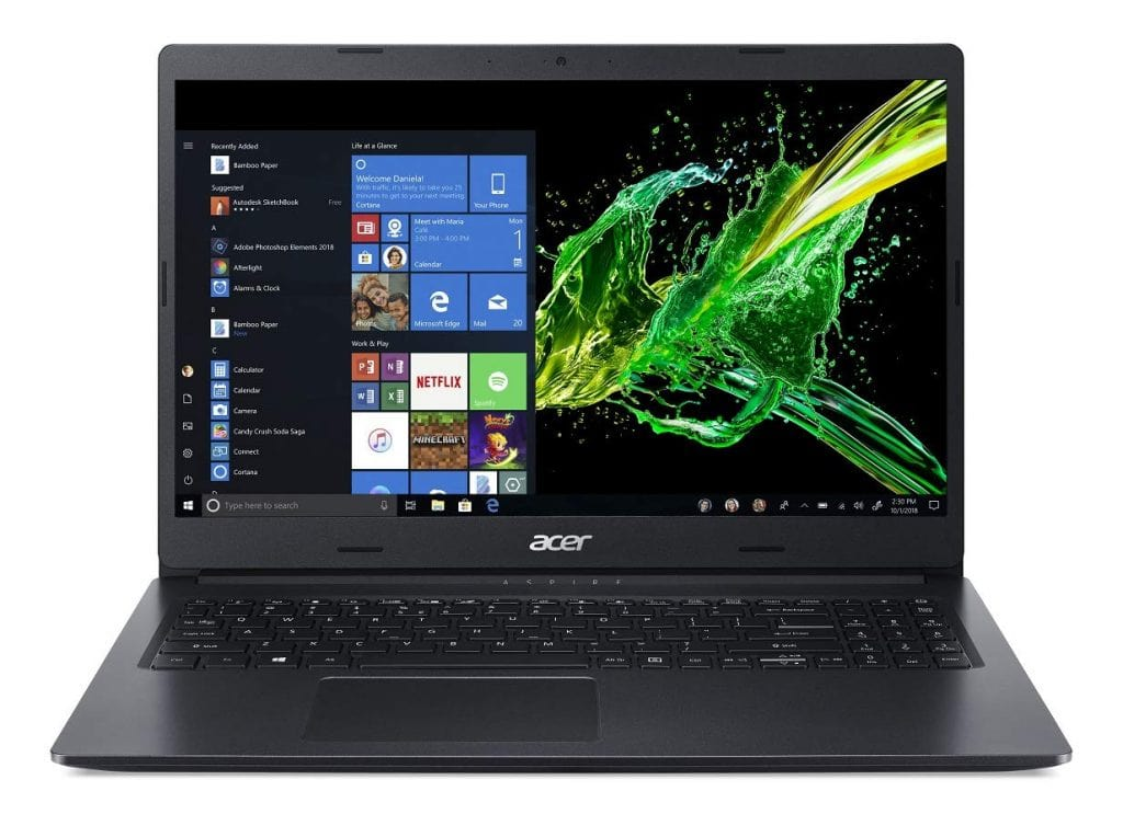 Acer Aspire 3 Thin A315-55G 15.6-inch Notebook  intel i7 processor laptop
