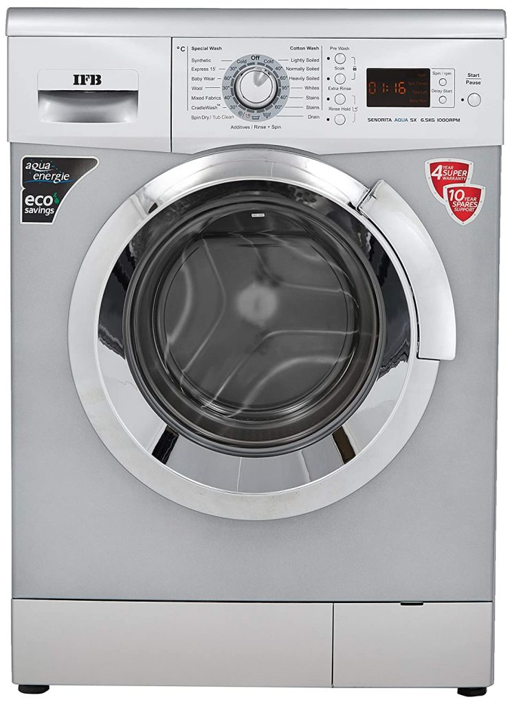 IFB 6.5 Kg Senator Aqua SX Fully-Automatic Best IFB Washing Machine