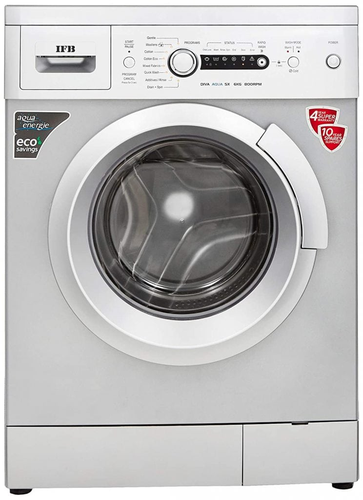 IFB 6 Kg Diva Aqua SX Fully-Automatic Best IFB Washing Machine