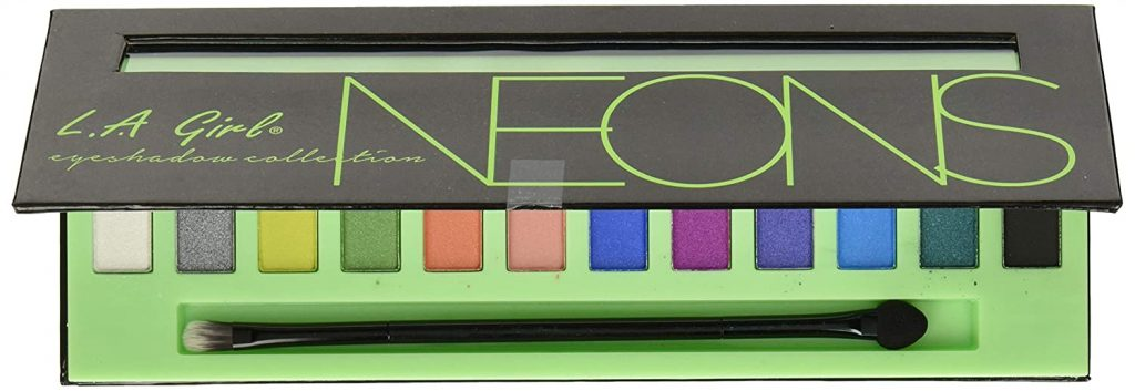 L.A. Girl Beauty Neons Brick 12 Grams Best Eyeshadow Palette