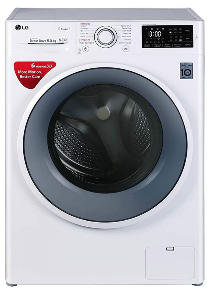 LG 6.5 kg FHT1065SNW Front Loading Best Washing Machine
