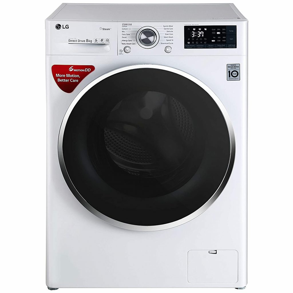LG 7 kg FH2G6HDNL42 Best Front Load Washing Machine