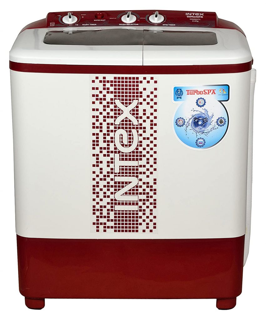 Intex 6.2 kg Best Semi Automatic Washing Machine