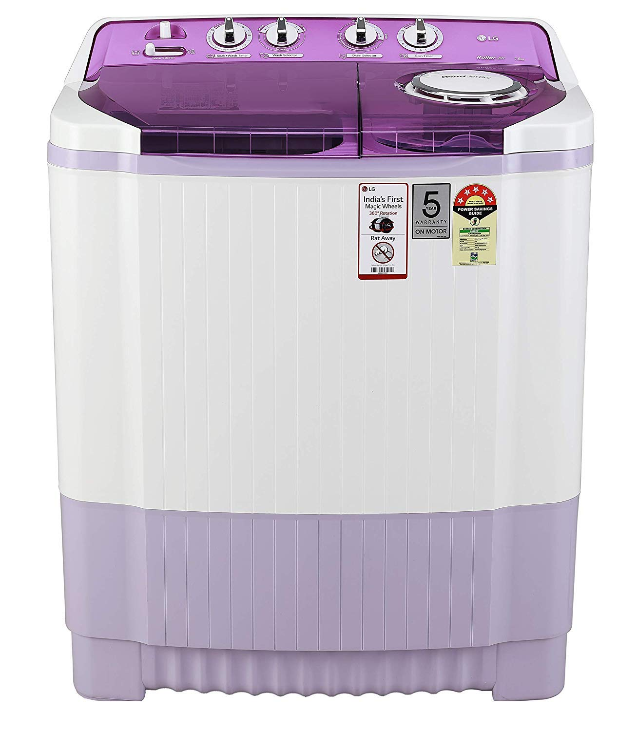 LG 7.5 Kg Best Semi Automatic Washing Machine