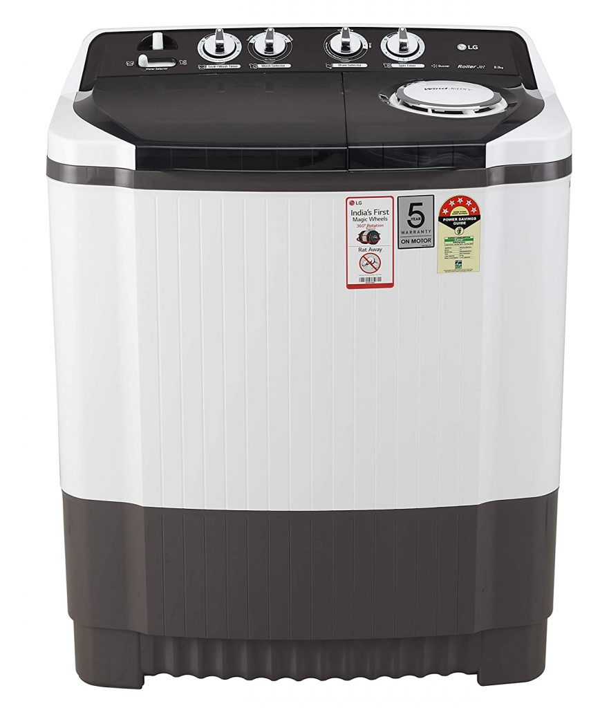 LG 8 Kg P8035SGMZ Best Semi Automatic Washing Machine