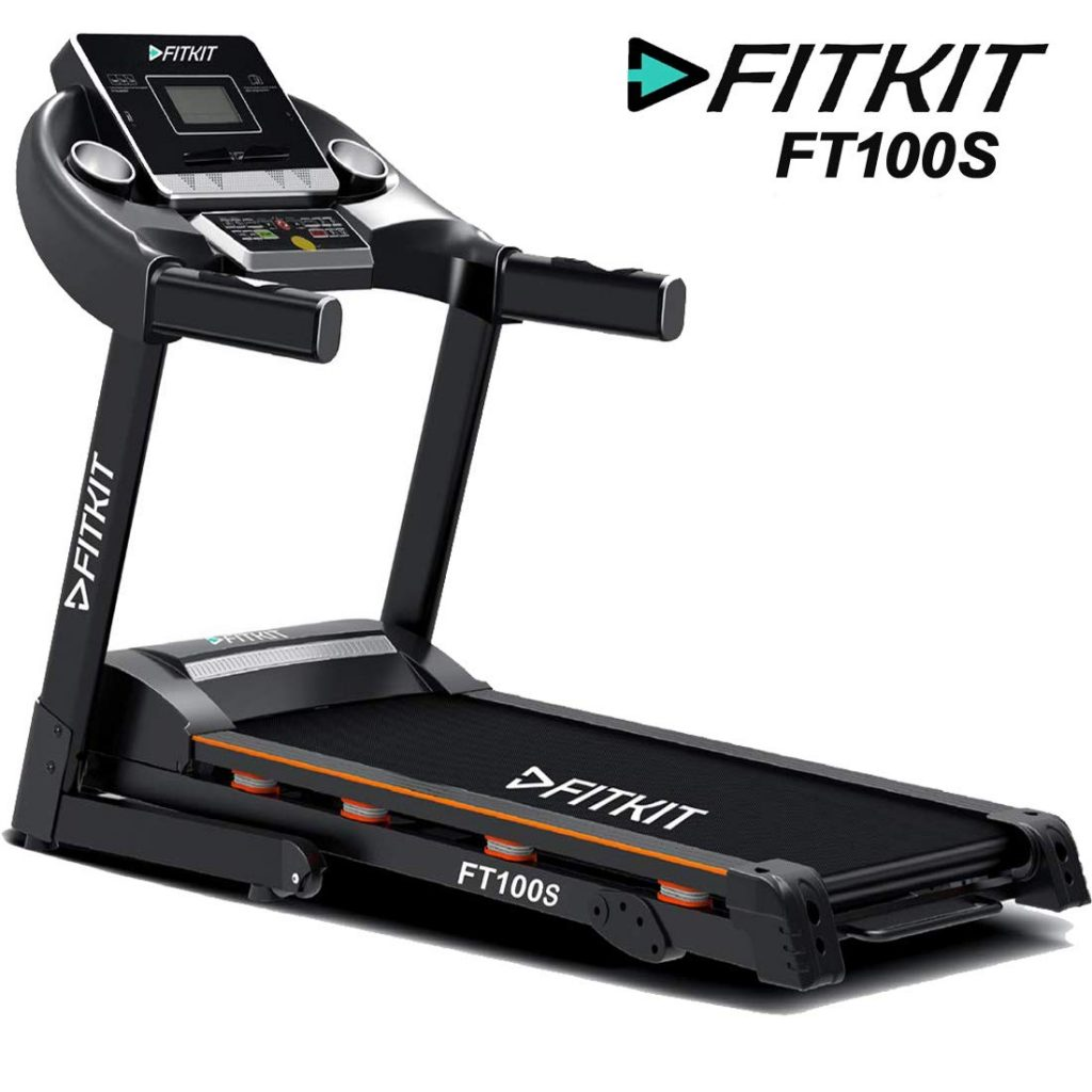 Fitkit FT100 Series Motorized Treadmill for home