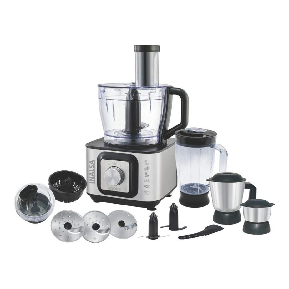 Inalsa INOX Best Food Processor 1000 Watt Motor