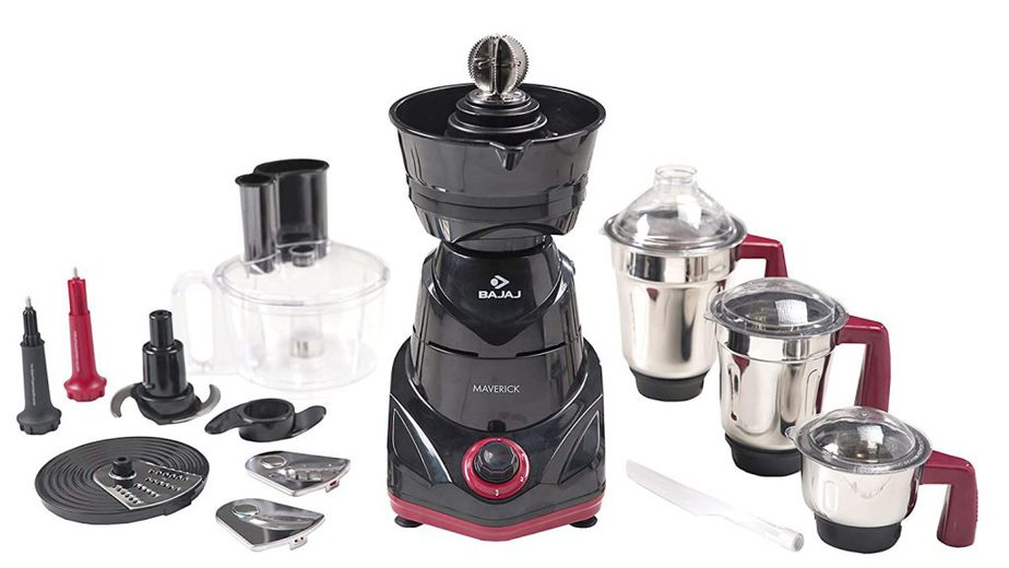 Bajaj Maverick Best Food Processor 750 Watt Motor