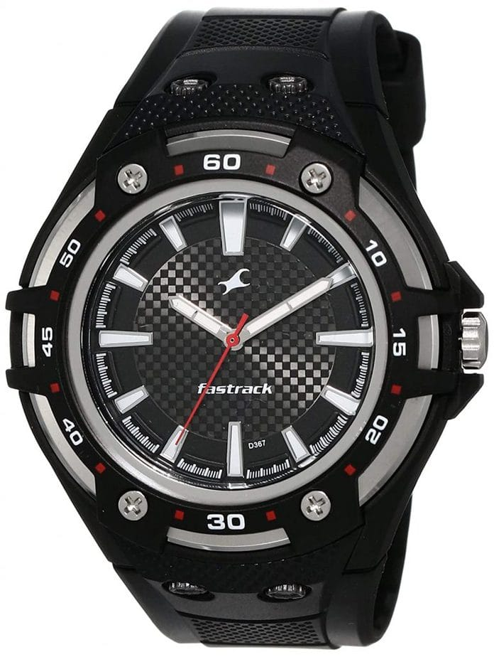 Fastrack New OTS Analog - NK9332PP02 best Fastrack watch for men