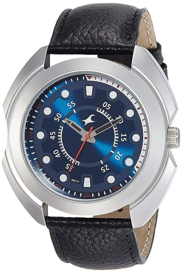Fastrack Analog Blue - NK3117SL04 best Fastrack watch for men