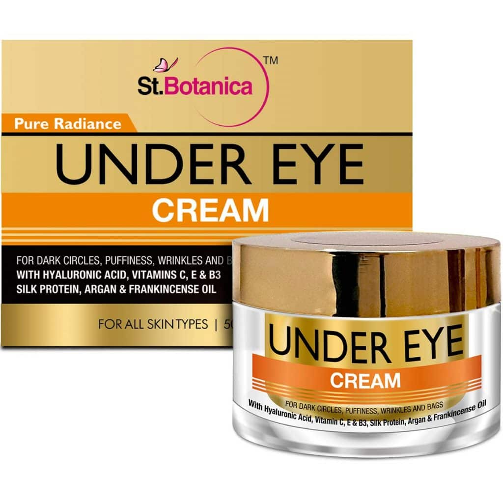 StBotanica Pure Radiance Under Eye 50g dark circle removal cream