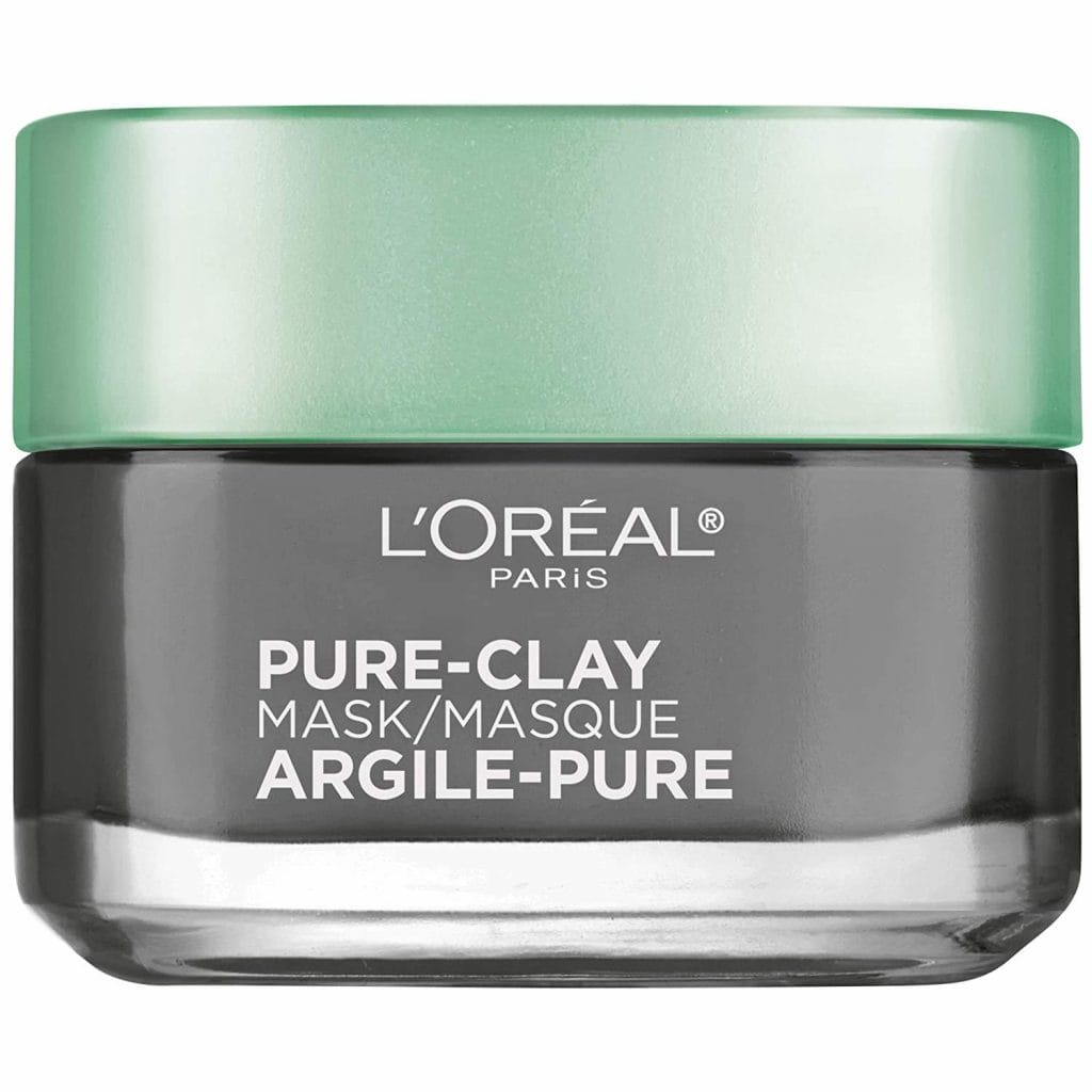 L'Oreal Paris Pure-Clay Detox with Charcoal Clay face mask