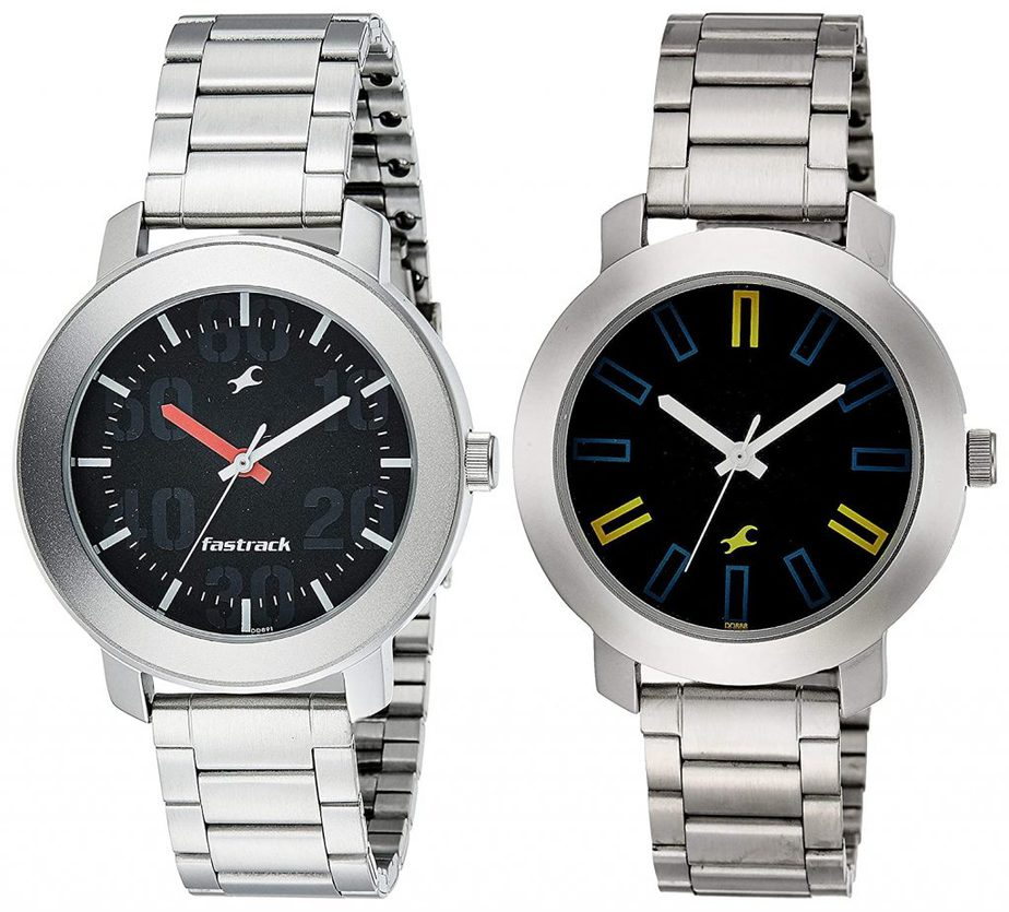 Fastrack Casual Analog - NK3121SM02 best Fastrack watch for men below 2000