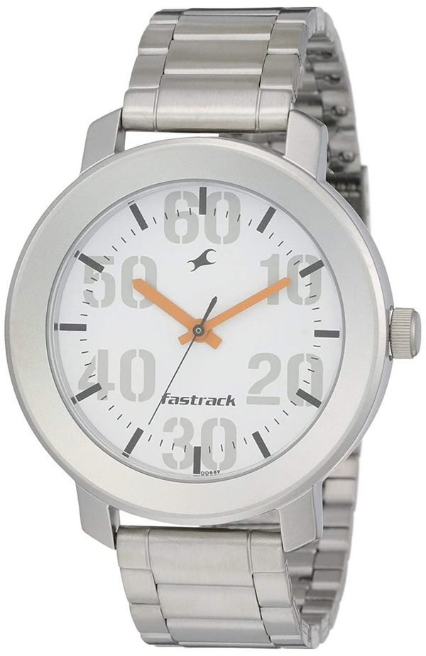 Fastrack Casual Analog - NK3121SM01 best Fastrack watch for men