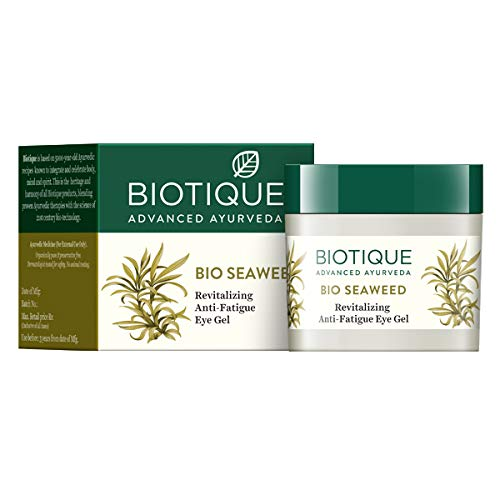 Biotique Bio Seaweed Revitalizing Anti Fatigue Eye 15 Gms dark circle removal cream