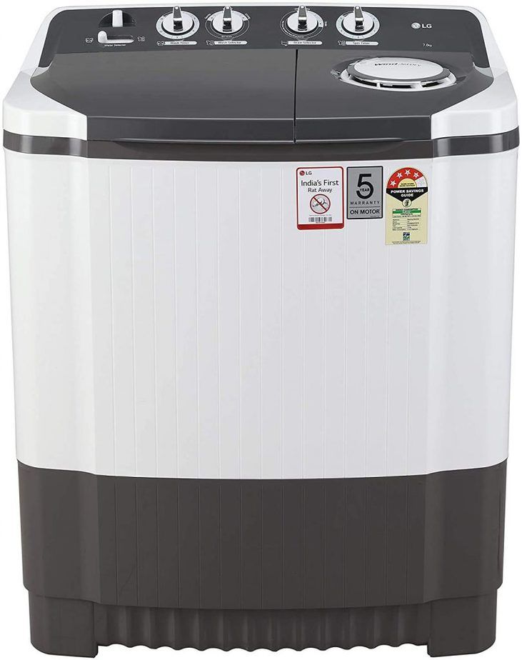 LG 7 KG P7020NGAY Semi Automatic Washing Machine