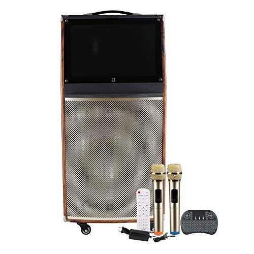 White Square PWS-50 Portable Trolley Karaoke System