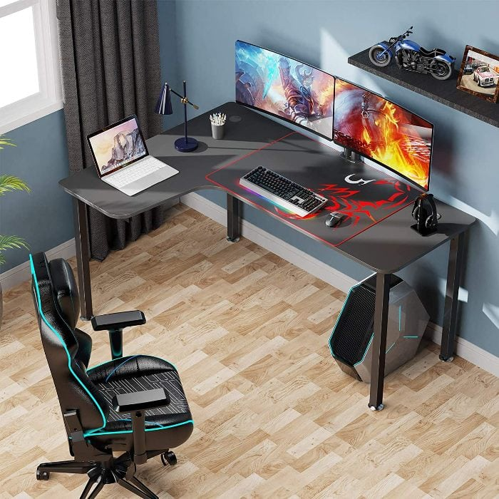 Best L Shaped Gaming Desk For Computer In India With Buying Guide